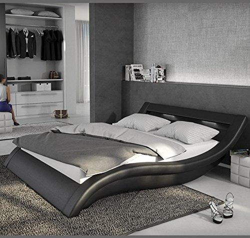 letti e mobili letto di disegno atenas in colore nero