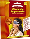 Wärmende Augenmaske   Augenpflege - Anti Falten, Tränensacke, Augenringe und Kopfschmerzen   Augenpflege   Hautfreundlich *Zertifiziert*   Für Männer und Frauen (5er Pack - Spare 10%)