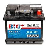 BIG Silber Ca/Ca 12 V / 36 Ah - 300 A/EN 53646 Autobatterie