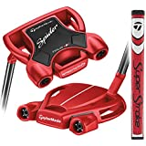 TaylorMade Golf Spider Tour Red #3 Small Slant 34 IN Putter, Left Hand