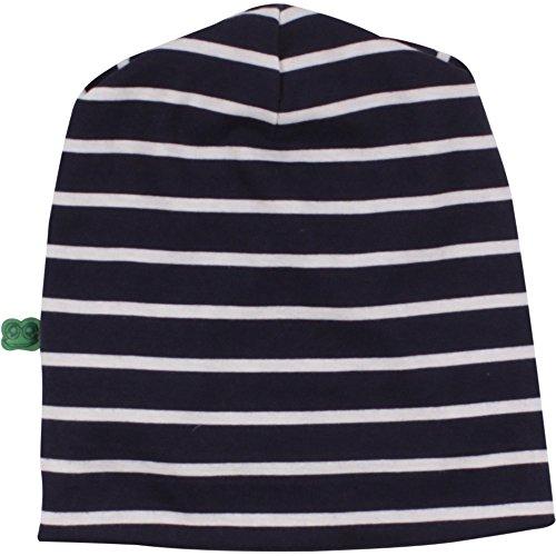 Fred's World by Green Cotton Unisex Baby Mütze Sailor Stripe Beanie Blau (Navy 019392001), S (Herstellergröße: (Hut Sailor Baby)