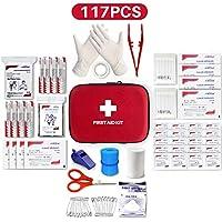 Kleines Mini-Erste-Hilfe-Set, 117 Teile Hartschalen-Erste-Hilfe-Set Enthält Notfallfolien-Decke, CPR-Gesichtsmaske... preisvergleich bei billige-tabletten.eu