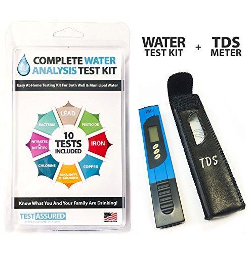 Home Blei-test-kit (Komplett Wasser Test Kit mit TDS Meter–Home Testen mit Ergebnisse in Minuten)