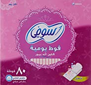 Sofy panty liner (Clean & pure) Fresh 58+22