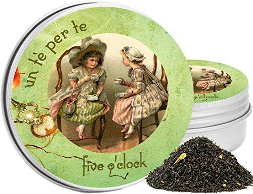 Five o'clock - un té per te -tè verde e tè nero bergamotto e gelesomino