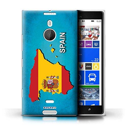 Kobalt® Imprimé Etui / Coque pour Nokia Lumia 1520 / Australie conception / Série Drapeau Pays Espagne/Espagnol