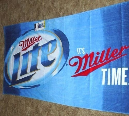 miller-lite-beach-towel-30-x-60-inches-by-franco