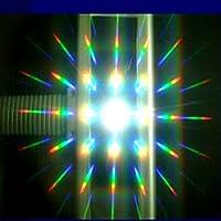 Hoja de rejilla de difracción de hojas A4 13500 líneas Película de difracción clara de 8 * 11 pulgadas