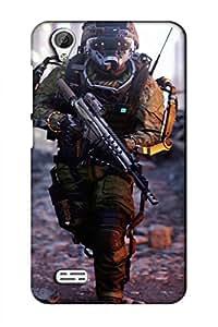 AMAN Soldier 3D Back Cover for Vivo Y 31 L