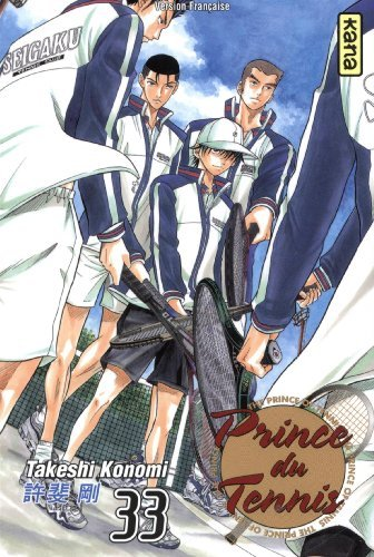 Prince du tennis 33 by Takeshi Konomi (January 19,2011) par Takeshi Konomi