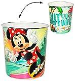 Papierkorb -  Disney Minnie Mouse  - Kunststoff - Mülleimer Eimer -...