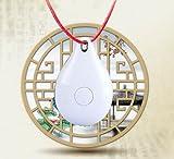 WYXIN Bluetooth 4.0 Localizzatore telefonico anti-smarrimento a bassa perdita Bambini Anziani Animali Bluetooth Allarme anti-perso 2 pezzi