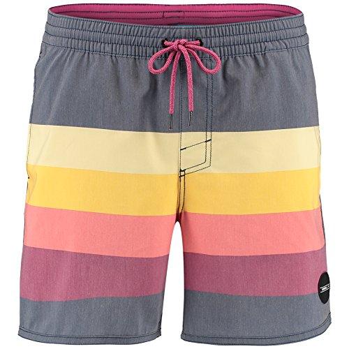 O'Neill Herren Horizon Shorts Boardshorts red aop