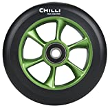 Chilli Jet Wheels 2014 Stunt-Scooter Wheel 110mm Rolle Green