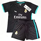 a0f199654ce07 Segunda Equipación Infantil Réplica Oficial del Real Madrid Temporada  17 18