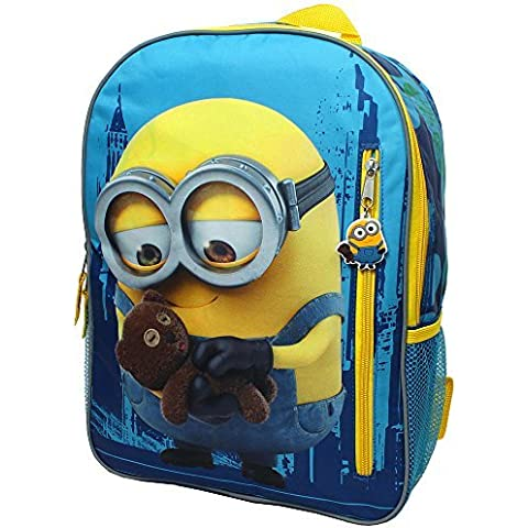 Despicable Me Minions I See You 16 inch Backpack with Side Mesh Pockets by Despicable Me Minions