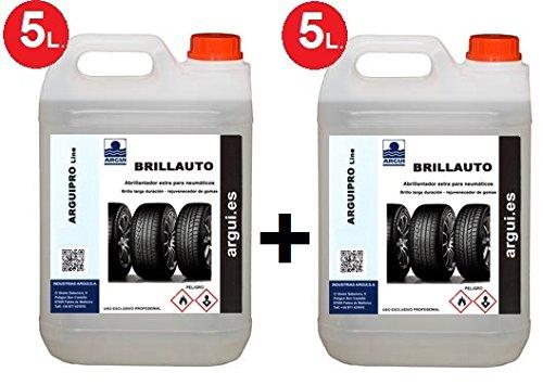 10Liter brillauto (2x 5)., Politur Renovador Reifen und Kunststoffe im Innen- und Außenbereich. verarbeitet und nährt die Haut und Kunstleder.