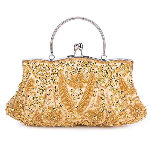 Kisschic - Borsa a tracolla donna Gold