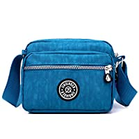 Outreo Casual Shoulder Bag Women Side Bag Lightweight Small Messenger Bag Waterproof Cross Body Bag for Sport Girls Bag