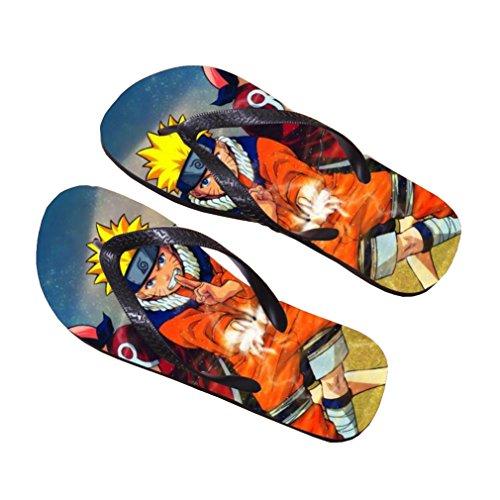 Bromeo Naruto Anime Unisexe Flip Flops Tongs 337