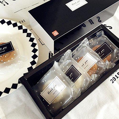 400 pz Pegatinas Adhesivas Adhesivas Adhesivas Gracias Etiqueta Engomada Hecha A Mano Hecha A Mano Etiqueta Etiqueta de Cocina 5X2.7 cm (20 Hojas)