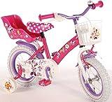 12 Zoll Fahrrad Minnie Mouse Stahlrahmen Kinderfahrrad Disney Minni Maus