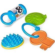 Chicco Set Baby Senses - 4 juguetes diferentes estimulantes y blandos para bebés, ideal regalo