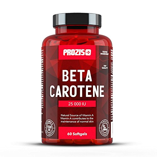 Beta Carotene 25000 IU 60 softgels