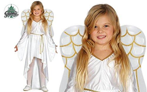üm für Mädchen Kinder Weihnachten Krippe Krippenspiel Gr. 98-146, Größe:128/134 (Weihnachten Krippe Kostüme)