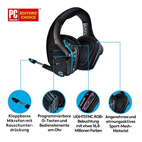 Logitech G933 Artemis Spectrum Kabelloses professionelles Gaming Kopfhörer - 6