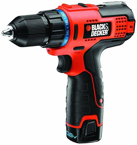 Black+Decker HPL106KB-QW Taladro atornillador compacto
