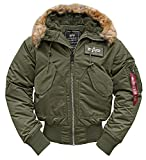 CWU Hooded dark green - M