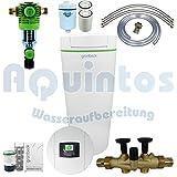Grünbeck Enthärtungsanlage softilQ:SC18 Wasserenthärtungsanlage-Enthärtungsanlage-Entkalkungsanlage-Weichwasseranlage inkl. Grünbeck Rückspülfilter Boxer in 1'