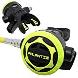 Scuba Choice Palantic AS206 Black/Yellow Second Stage Regulator Octopus with 36' 350PSI Hose