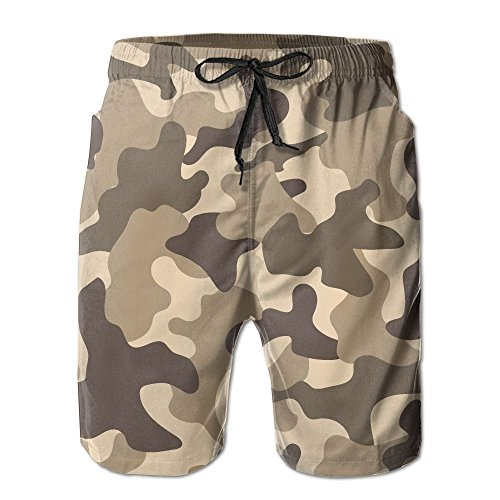 (bikini bag Camouflage Forest War Men Boy's Casual Quick-Drying Beach Pant Swim Surf Trunks)