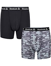 Reebok Men's Performance Sports Boxer Trunk 2 Pack Devon