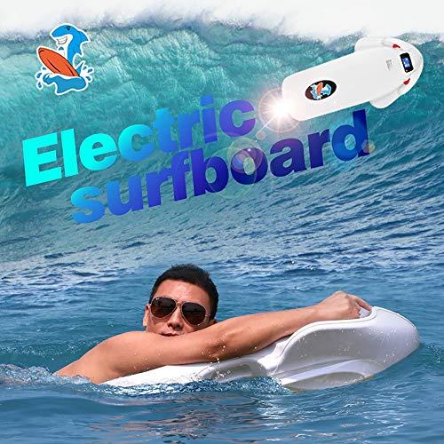 ZUEN 3200W 36V 12AH Batteria Tavola da Surf per Adulti Scooter per Mare Mare Scooter Elettrico Elica Subacquea Bianco