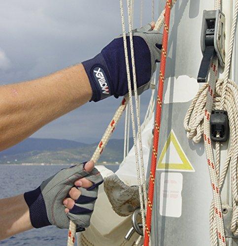 Motivex Halbfinger Segelhandschuhe im Test: Material & Praxis-Erfahrung - 4