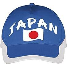Supportershop – Gorra Japón fútbol, Azul, FR: Talla Unique ...