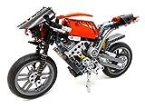 Technik Motorrad Rennmaschine Konstruktionsspielzeug 446 Teile