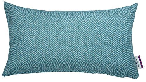 Tom Tailor T Soft Herringbone Kissenhulle Polyester Petrol 30 X 50 X 0 05 Cm
