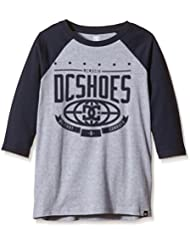 DC Shoes The Creed Rag B B Tees BTL0 - Camiseta para niño, color azul, talla 16/XL