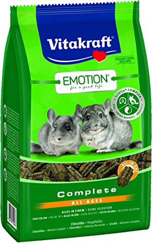 Vitakraft Emotion Complete all Ages, cincillà, Confezione da (5 X 4 kg)