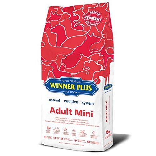 WINNER PLUS Adult Mini 18 kg - Alimento completo per cani adulti di piccola taglia