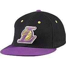 Gorra adidas – Nba Fitted Los Angeles Lakers Negro Morado L 6d50807acb1