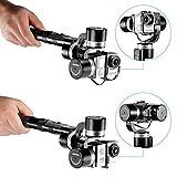 Neewer® Neewer-Pround 3Ejes Handheld Steady Gimbal PTZ de Alta precisión para Montaje de cámara estabilizador para GoPro Hero 4Astilla Negro 3+ 321SJ4000/5000/6000/7000