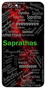 Saprathas (Lord Vishnu) Name & Sign Printed All over customize & Personalized!! Protective back cover for your Smart Phone : SONY M-2