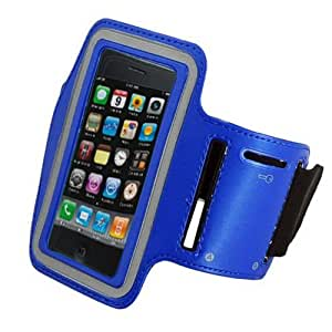 Armband Case for Apple iPhone 5 5S (blue)