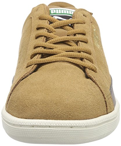 Puma Match 74 Suede, Sneakers da Uomo Marrone (Braun (chipmunk-bracken brown-marshmallow-team gold 02))