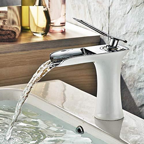 Waschraumarmaturen Wasserfall Kupfer Bad Eitelkeit Für Waschbecken Mischbatterie Chrom Waschbecken Modernen Modestil